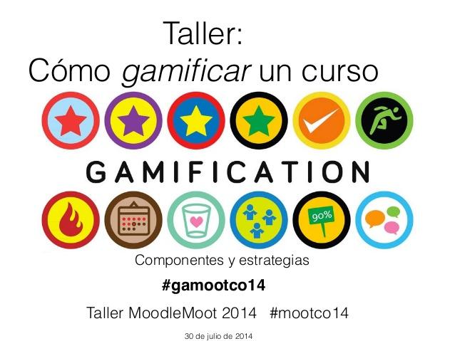 Gamificación Moodle